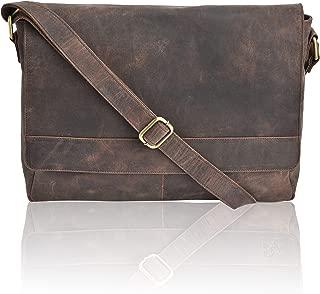 Mejor Mens Leather Laptop Messenger Bag de 2020 - Mejor valorados y revisados