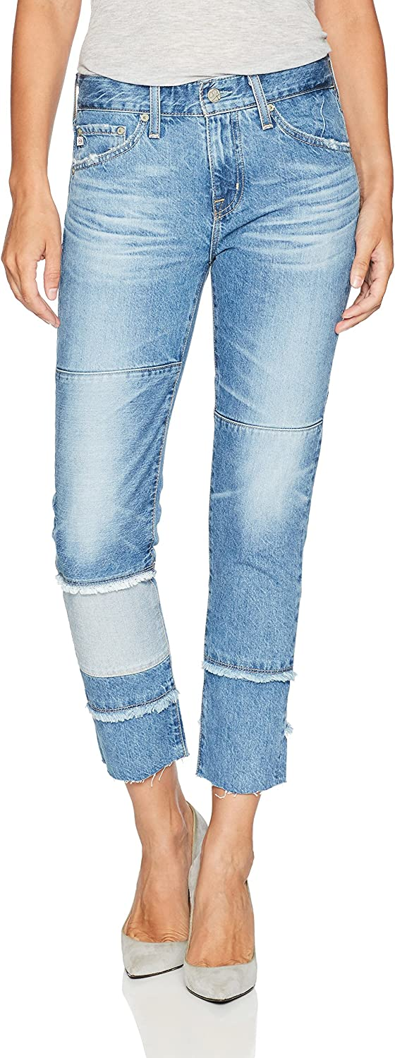 AG Adriano goldschmied Womens The ExBoyfriend Slimrepurposed Jean Jeans