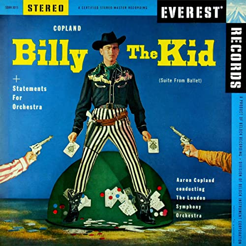 Image result for aaron copland billy the kid suite