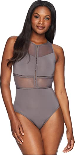 Aspire High Neck One-Piece