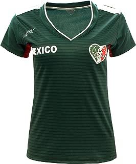 Arza Sports Women Mexico Fan Jersey 2018 Color Green