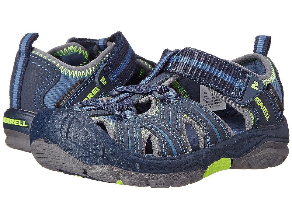 Merrell Kids Hydro (Toddler/Little Kid) (Navy/Green) Boys Shoes