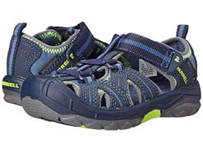 Merrell Kids Hydro (Toddler/Little Kid) (Navy/Green) Boys Shoes