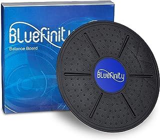 comprar comparacion Bluefinity Tabla Equilibrio, Balance Board, Plataforma, Disco, Ejercicio, Entrenamiento, Fitness, 1 Ud, 36 cm, Negro