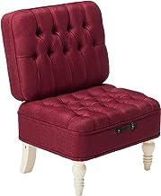 Christopher Knight Home Raye Upholstered Birch Vanity Chair, Wine and Cream