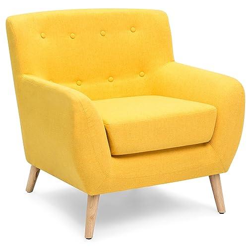 Yellow Armchair Amazoncom