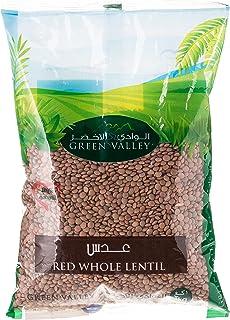 Green Valley Red Whole Lentil - 1 kg