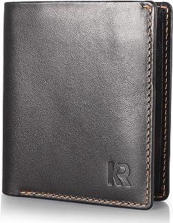 KRONIFY Mini Portafoglio Uomo piccolo - misura perfetta per la tua tasca I Protezione RFID approvata dal TÜV I Portafoglio...