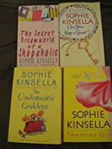 Sophie Kinsella Collection of 4 books: The Secret Dreamworld of a Shopaholic+Can you Keep a Secret+The Undomestic Goddess+...