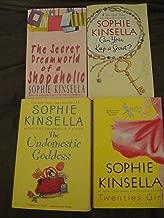 Sophie Kinsella Collection of 4 books: The Secret Dreamworld of a Shopaholic+Can you Keep a Secret+The Undomestic Goddess+Twenties Girl