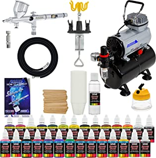 central pneumatic airbrush compressor kit