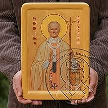POPE SAINT JOHN PAUL ii iconography art work religious gifts (6.69
