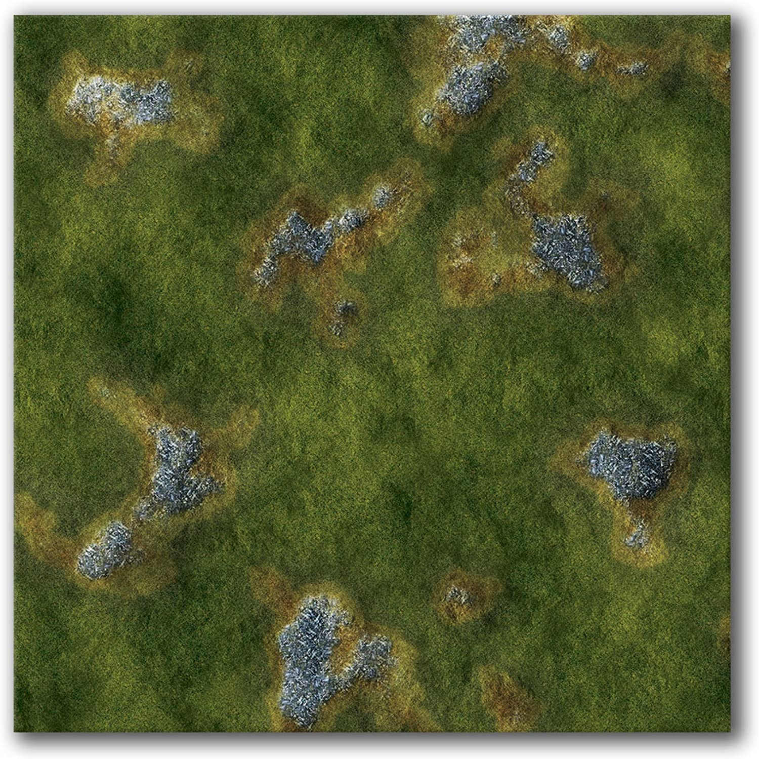 low-pricing Frontline Gaming Neoprene Mat with Ba Print 2 Excellence Grasslands