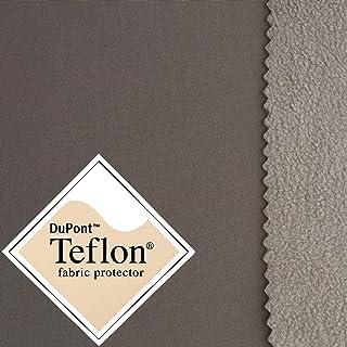 Softshell - Tela Impermeable, Transpirable y Resistente al Viento - 17 Colores - por Metro (Taupe)