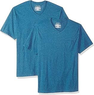 Men's 2-Pack Loose-fit V-Neck Pocket T-Shirt