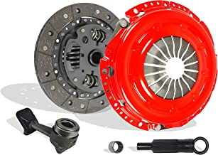 Clutch Kit And Slave Works With Ford Focus Base SE S2 ZTS ZTW ZX3 ZX5 Sony Limited Edition Manual Mid High 2000-2004 2.0L L4 GAS DOHC Naturally Aspirated (Stage 1)