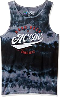 Liquid Blue Men's Ac/dc Hard Rock Tank Top T-Shirt