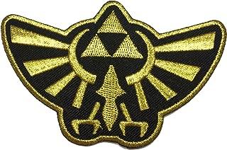 Patch Squad Men's Legend of Zelda Hyrule's Royal Crest Gold Logo Patch (Gold)