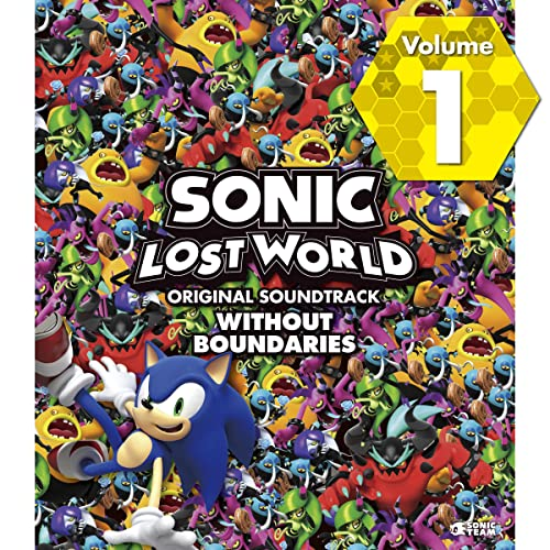 SONIC LOST WORLD ORIGINAL SOUNDTRACK WITHOUT BOUNDARIES Vol. 1