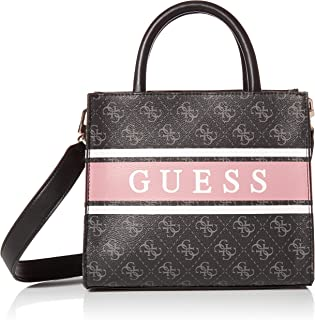 Guess Borsa mano/tracolla Monique mini tote coal/blush BS21GU38 SB789476