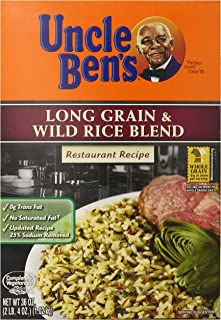 UNCLE BEN'S Long Grain and Wild Rice Blend, 36 Ounce