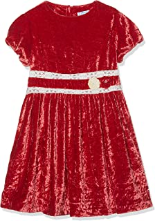 Mayoral 3.910 Girls Bib Skirt with Belt Detachable Denim Blue