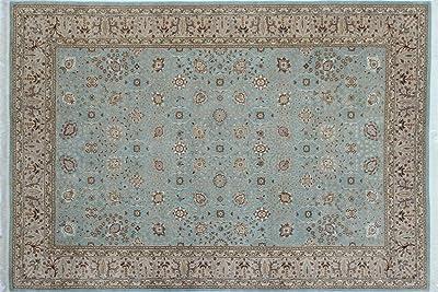 Amazon Com Noori Rug Ankara Jamieson Area Rug 8 4 X 10 5 Blue Beige Furniture Decor