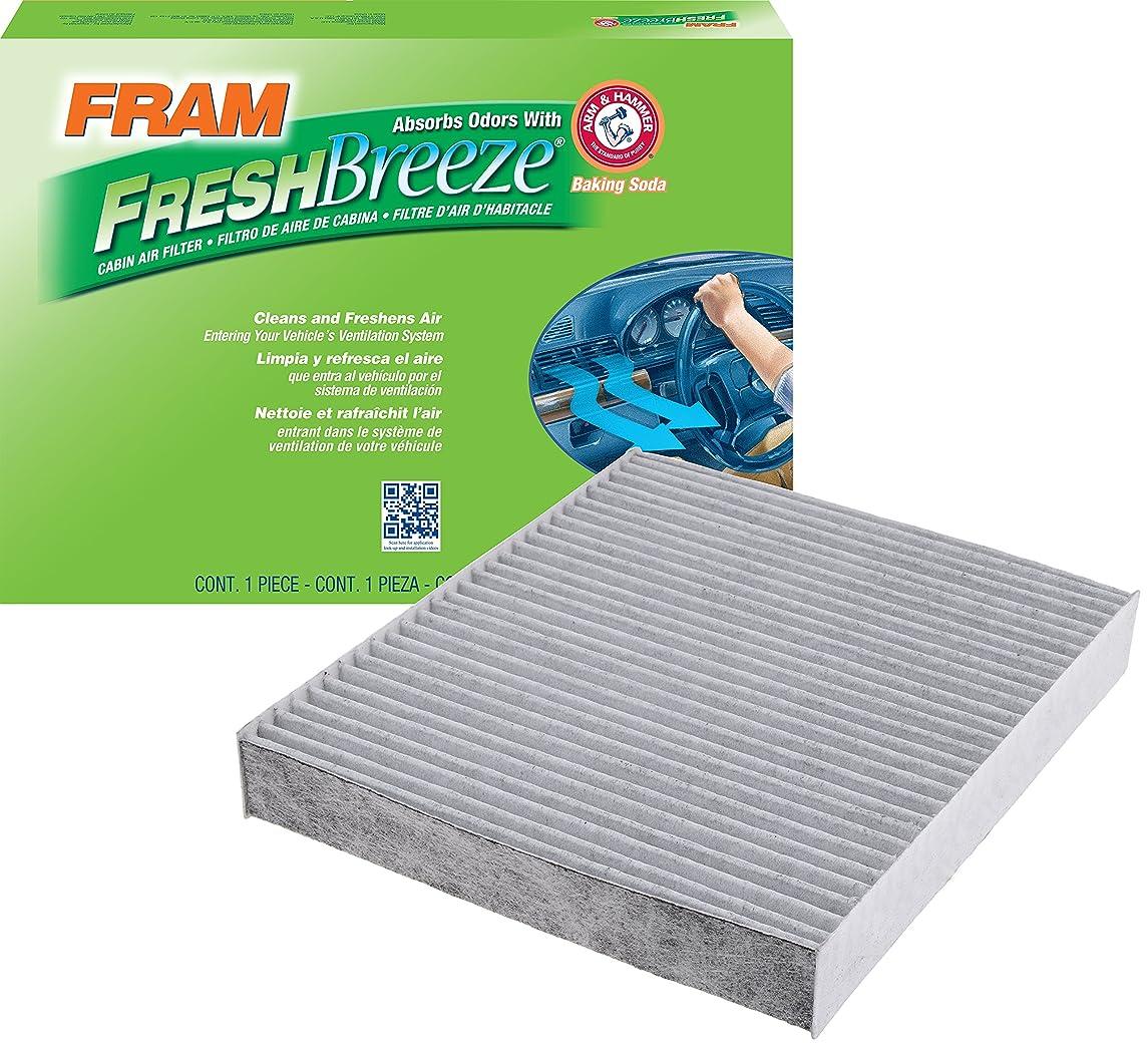 FRAM CF10743 Fresh Breeze Cabin Air Filter with Arm & Hammer loacensalggxhm