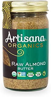 Artisana Organics Non GMO Raw Almond Butter, 14 oz