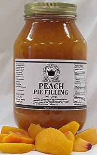 Peach Pie Filling, 36 oz