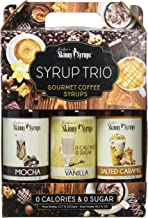 Sugar Free Syrup Trio 3x375ml Salted Caramel, Mocha and Vanilla