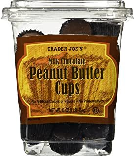 Trader Joe's Milk Chocolate Peanut Butter Cups 16 OZ(1 LB)