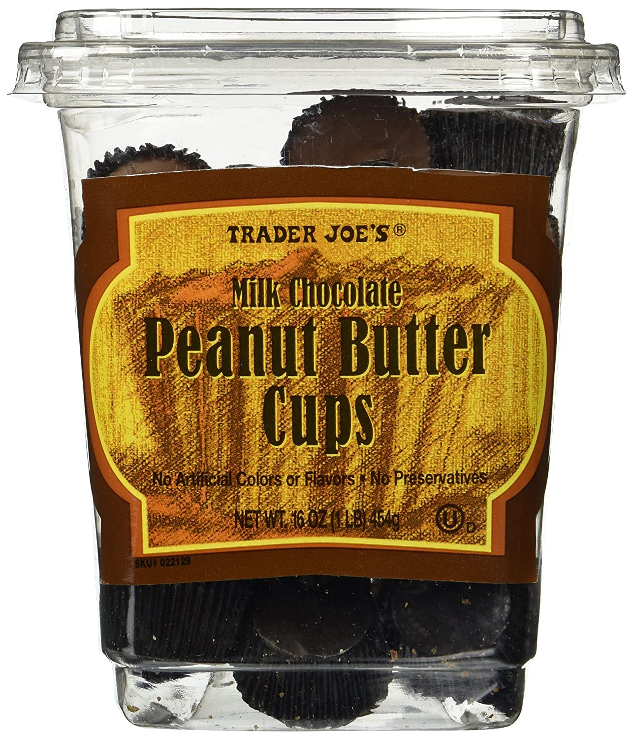 Image result for trader joe's milk chocolate peanut butter cups