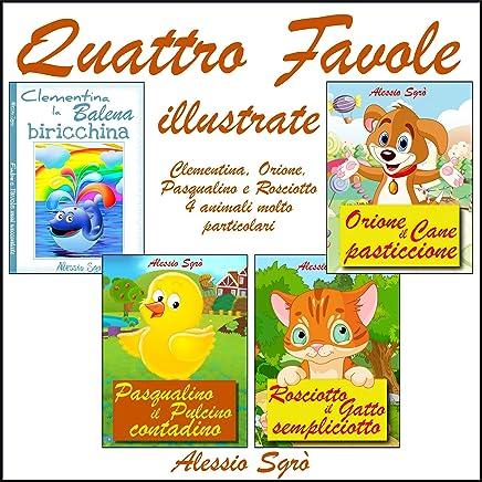 Quattro favole illustrate