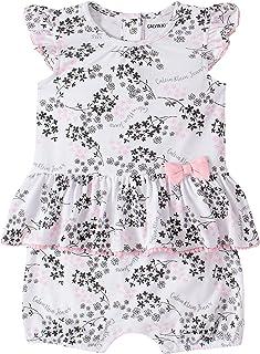 Calvin Klein Baby Girls' Romper