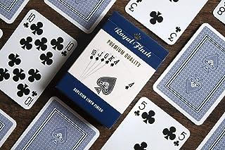 Cartamundi Royal Flush Playing Cards (3 pack, Red / White / Blue)