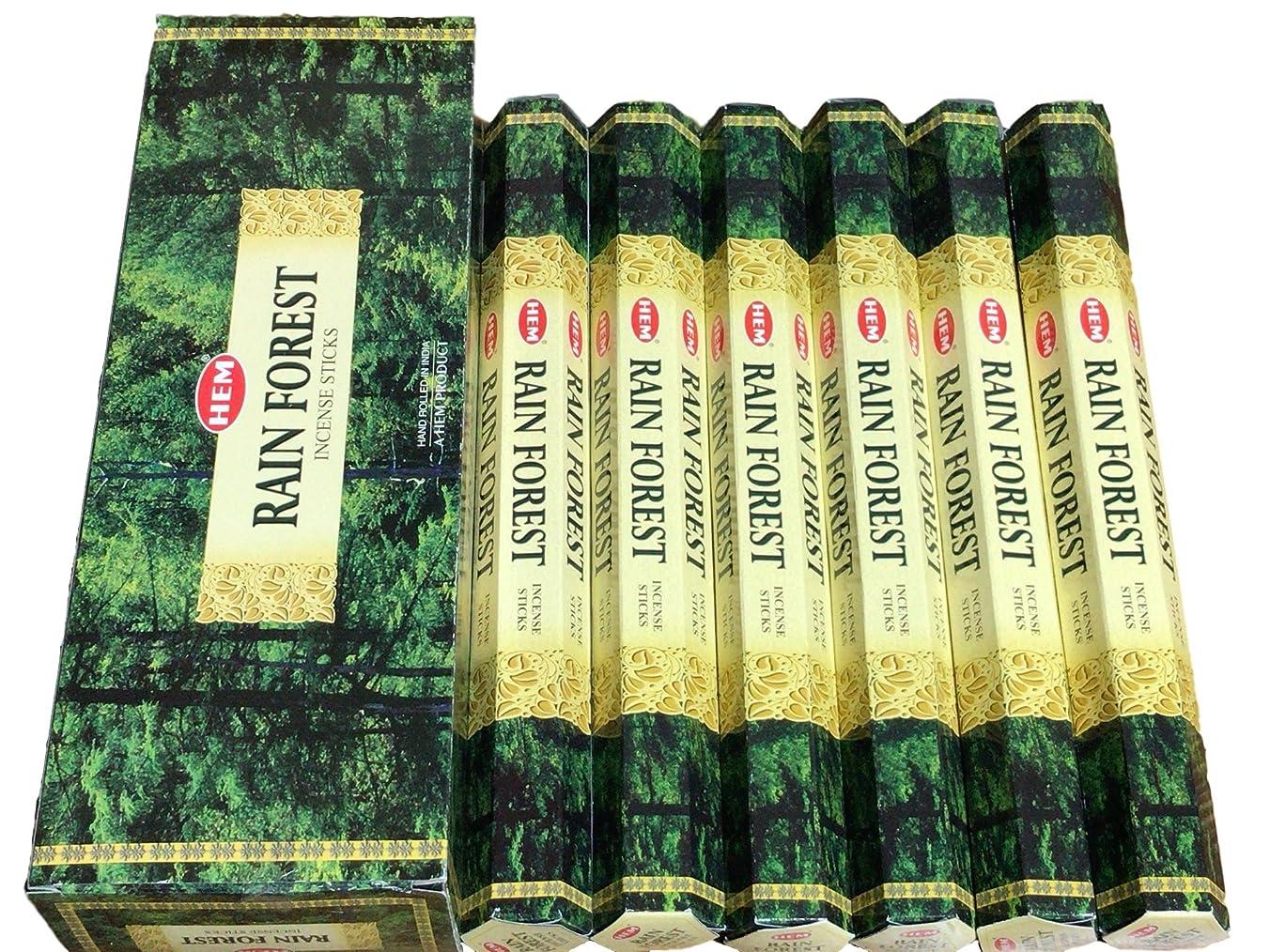 年金古風なフロンティアHEM ヘム レインフォレスト RAINFOREST ステック お香 6本 セット