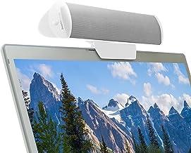 GOgroove Altavoz Portátil de Clip USB/Stereo Sound Bar para Lenovo Z50-75 HP 200 250 G4 HP Stream ASUS X556UJ F540SA F540LA X540LA Lenovo Ideapad G50-80 Acer Aspire Macbook Pro Air HP Pavilion y más