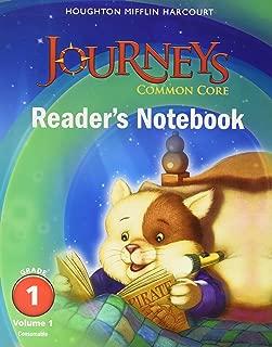 Journeys: Common Core Reader's Notebook Consumable Volume 1 Grade 1;Houghton Mifflin Harcourt Journeys