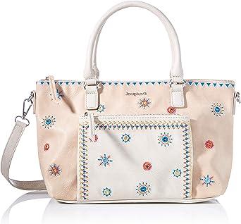 Desigual Womens PU Hand Bag, Brown, U