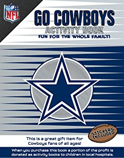 In The Sports Zone NFL Dallas Cowboys Activity Book/Blue/White/One Size