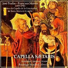 José Pradas - Francisco Morera: Mestres de Capella de la Concatedral de Santa Maria de Castelló