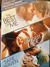 Movies Based on Nicholas Sparks' Best-Selling Novels: The Best of Me, The Longest Ride, and Safe Haven