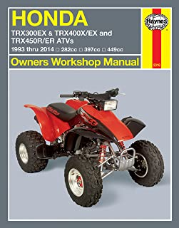repair manual honda atv