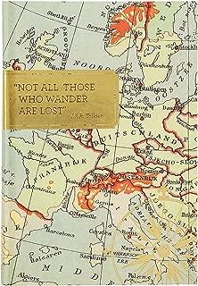 Eccolo Word Traveler Hardcover Travel Wander Journal, 6x8