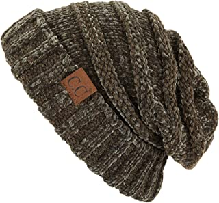 93ecc06a1fd C.C Hatsandscarf Exclusives Unisex Beanie Oversized Slouchy Cable Knit  Beanie (HAT-100)