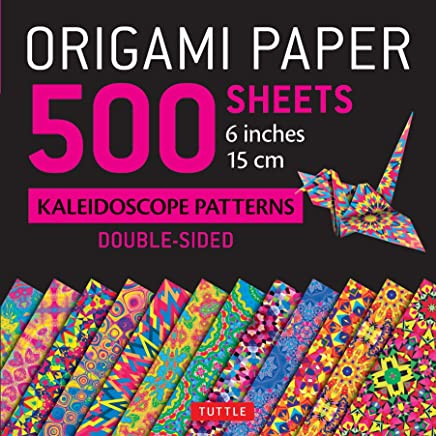 "Origami Paper 500 Sheets Kaleidoscope Patterns 6"" (15 CM): 12 Double-Sided Designs"