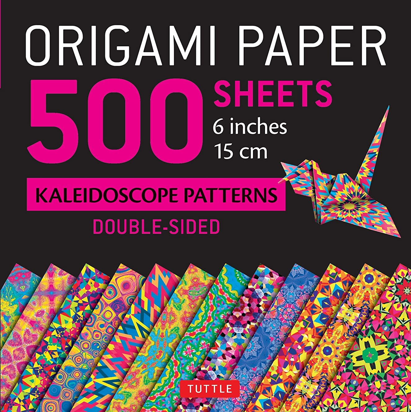 Origami Paper 500 sheets Kaleidoscope Patterns 6