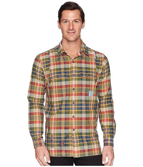eb7c62a7 Polo Ralph Lauren Madras Compass Long Sleeve Sport Shirt at 6pm