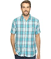 True Grit - Surf Check Short Sleeve Shirt Combed Cotton Double Light